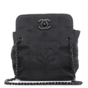 08960afa979b41 Chanel Sport Micro Micro-mini Nylon Satchel in Black