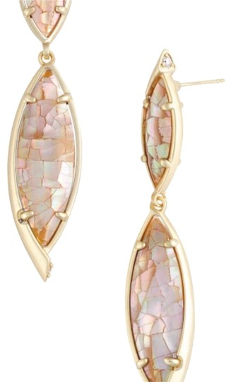 Preload https://img-static.tradesy.com/item/23421452/kendra-scott-mother-of-pearl-maisey-drop-brown-crackle-drop-earrings-0-1-540-540.jpg