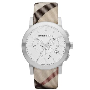 Burberry BU9357 City Leather Strap Nova Check Watch