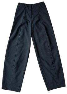Jil Sander Tailored Avant Garde Trouser Pants Black