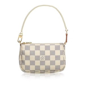 Louis Vuitton Monogram Damier Canvas Neverfull Pochette Mettis Wristlet