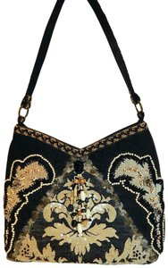 Mary Frances Sequin Beaded Quilted Shoulder Bag