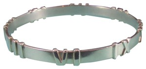 Tiffany & Co. Retired Tiffany & Co. Atlas Sterling Silver Matte Bangle Bracelet