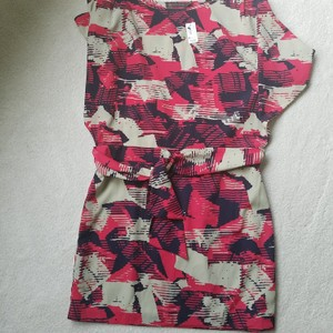 Outback Red short dress Red, tan, blue on Tradesy