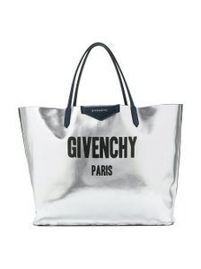Givenchy Luxury Tote in blue silver