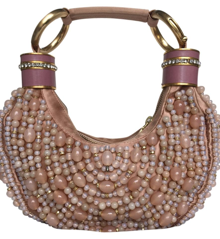 chloe beaded hobo