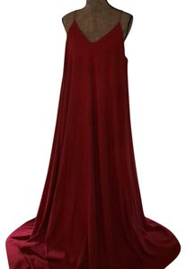 red Maxi Dress by Lord & Taylor