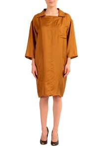Maison Margiela short dress Brown on Tradesy