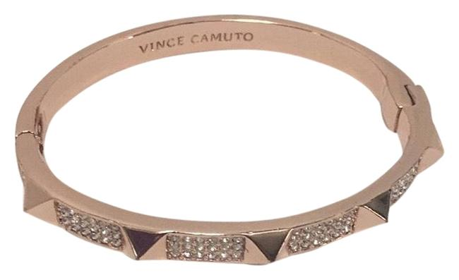 Item - Rose Gold Studded Pave Bracelet