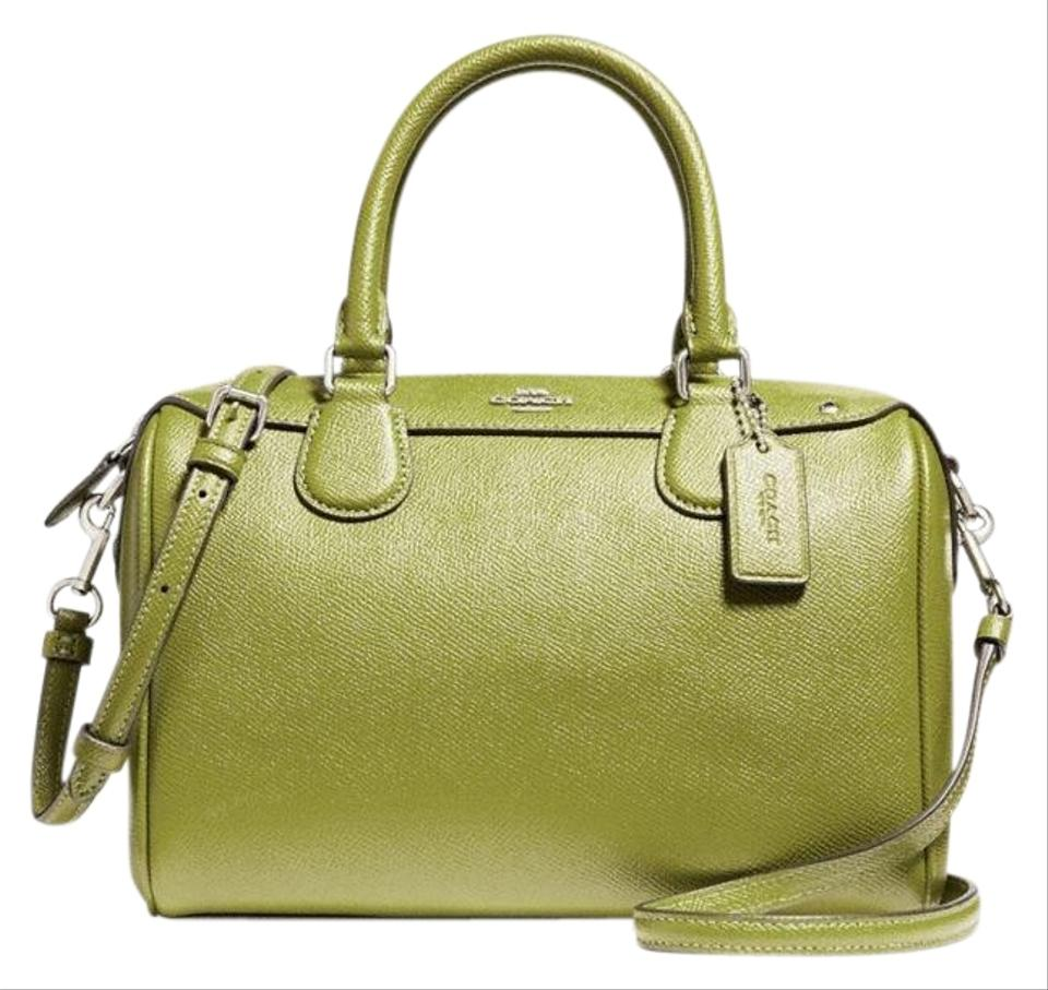 Coach Bennett Mini Handbag In Crossgrain