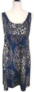 MICHAEL Michael Kors short dress Blue/multi Sundress Silk on Tradesy