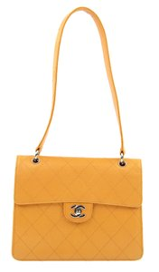 Chanel Single Flap Quilted Shoulder Cross Body Bag