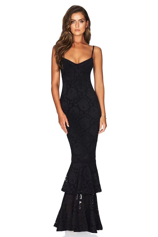 Available In White Black Red and Navy Blue Melody Lace Ruffled ...