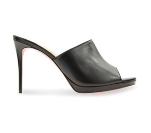 Christian Louboutin Pigalle Stiletto Classic Pigamule Black Mules