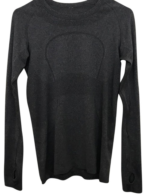 Item - Grey Swiftly Tech Long Sleeve Activewear Size 6 (S)