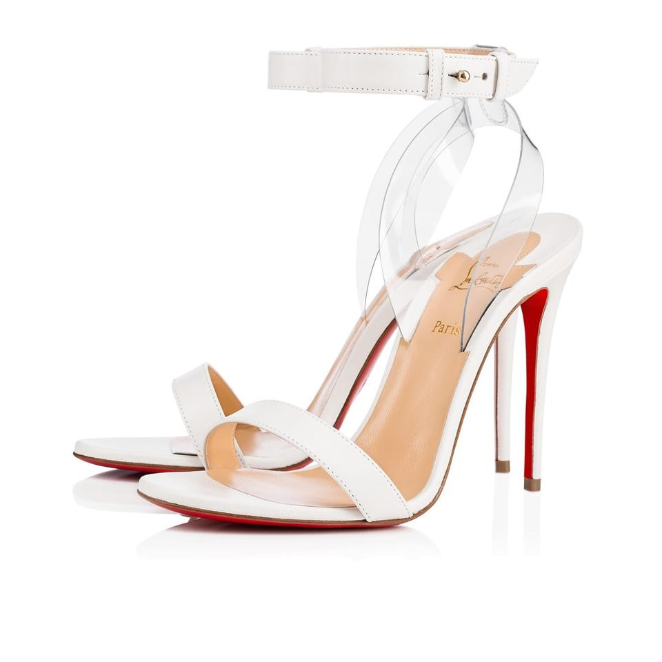 78f3395943a3 Christian Louboutin Pigalle Stiletto Classic Jonatina Sandal white Pumps  Image 0 ...