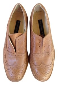 Steven by Steve Madden Loafers Oxford Brown Beige Flats