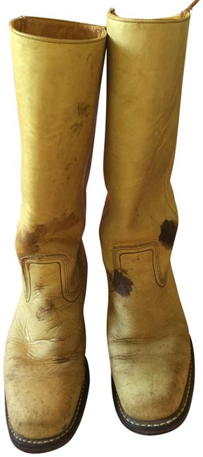 Item - Tan Leather Boots/Booties Size US 9 Regular (M, B)