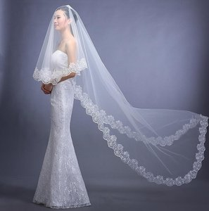 White Long New Never Used Bridal Veil