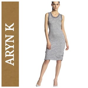 Aryn K short dress gray on Tradesy