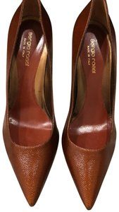 Sergio Rossi brown/orange Pumps
