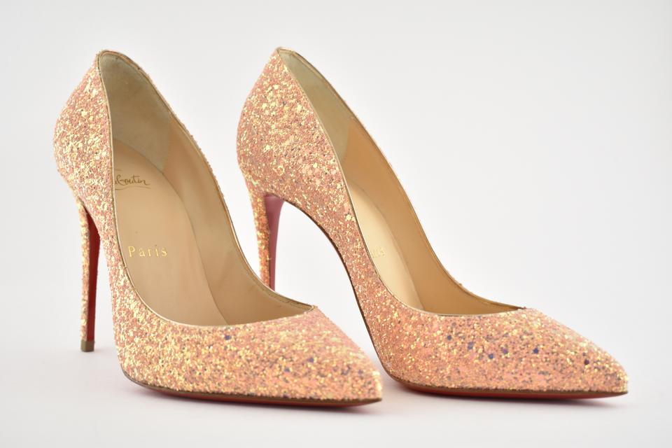 4281f00ca28 Christian Louboutin Pigalle Stiletto Follies Classic Glitter pink Pumps  Image 11. 123456789101112