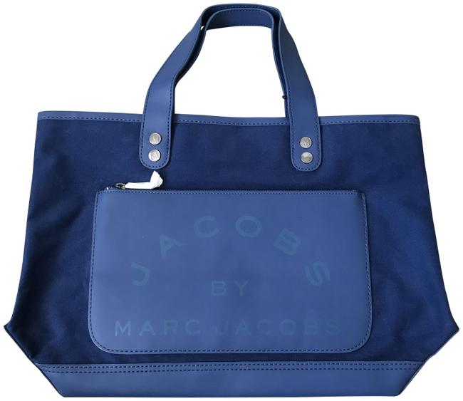 Item - Navy Blue Canvas Tote