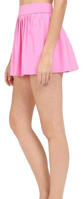 Item - Vibrant Pink Georgica Beach Pleated Skirt Cover-up/Sarong Size 8 (M)