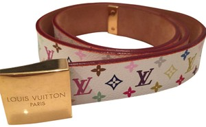 Louis Vuitton Monogram Multi Color Belt