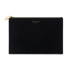 Gucci Guilty Parfums Black Case Pouch Make Up Bag Trousse Toiletry Dopp Kit