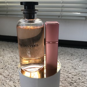 Louis Vuitton ' Rose des Vents' in Refillable Glass Travel Spray Atomizer 20ml