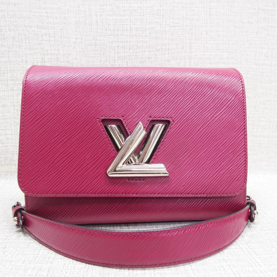 Louis Vuitton Twist Mm Shoulder Fuchsia Epi Cross Body Bag - Tradesy d40119b1f30e9