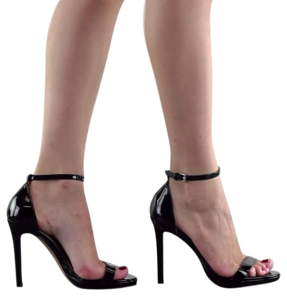 8ad8c309819 Steve Madden Stiletto Ankle Strap Sandal Heels Party Black Pumps Image 0 ...