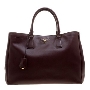Prada Tote in Burgundy