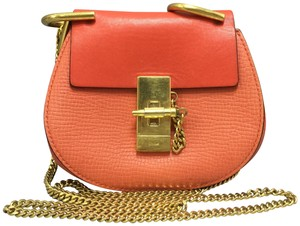 Chloé Drew Nano Calfskin Cross Body Bag