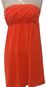 OP short dress orange on Tradesy