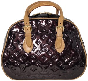 093a5fa4a8988 Louis Vuitton Lv Summit Drive Summit Drive Vernis Leather Satchel in Purple
