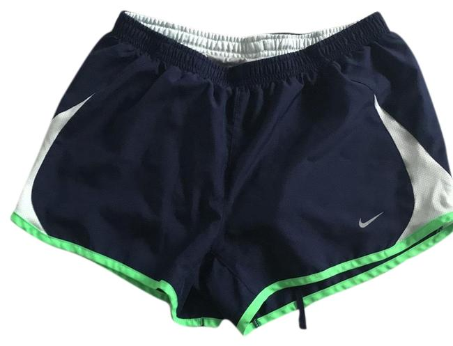 Item - Navy/White/Green 000 Activewear Bottoms Size 4 (S)