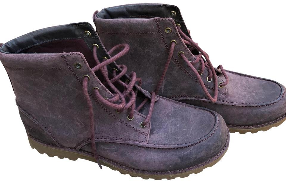 5fcd8dcce42 UGG Australia Crdv New Fallbrook Men's Lace-up Work Casual Leather  Boots/Booties Size US 12 Regular (M, B)