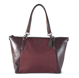 Coach Tote in QB/OXBLOOD