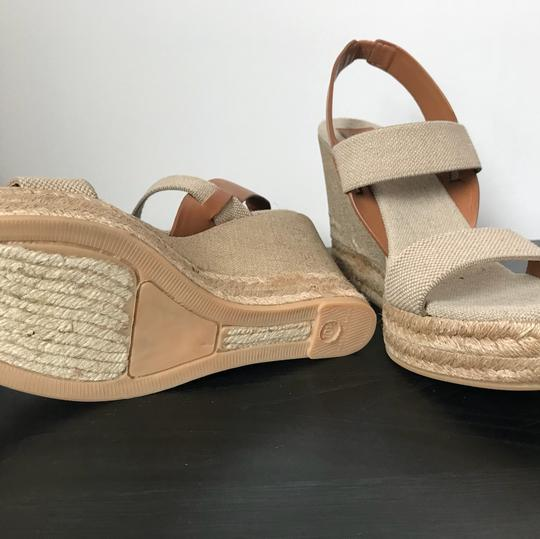 Tory Burch brown and nude/beige Wedges Image 2