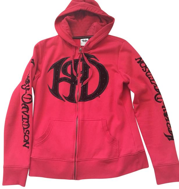 Preload https://img-static.tradesy.com/item/23428333/harley-davidson-red-and-blk-sweatshirthoodie-size-12-l-0-1-650-650.jpg