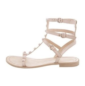 Rebecca Minkoff nude leather gladiator Sandals