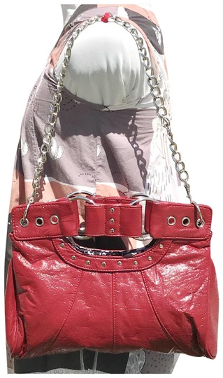 Preload https://img-static.tradesy.com/item/23428416/aldo-studded-patent-convertible-clutch-red-faux-leather-shoulder-bag-0-1-540-540.jpg