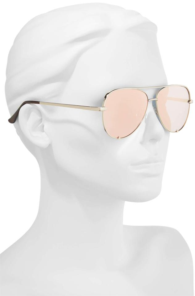 fb76993454 Quay QUAY AUSTRALIA x Desi Perkins High Key Mini 57mm Aviator Sunglasses  Image 0 ...