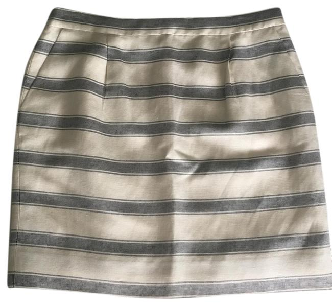 J.Crew Mini Skirt Cream Image 0