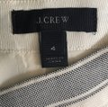 J.Crew Mini Skirt Cream Image 3