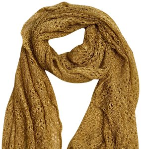 42ad5eaa5e1 Gold Saks Fifth Avenue Scarves   Wraps - Up to 70% off at Tradesy