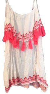Tiare Hawaii short dress Pink and White on Tradesy