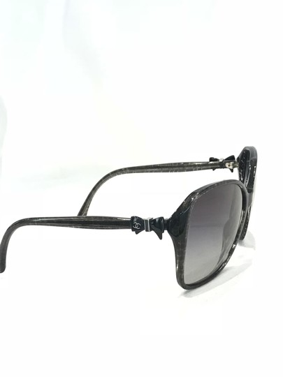 Chanel Square Frame Bow Sunglasses-5205 Image 2